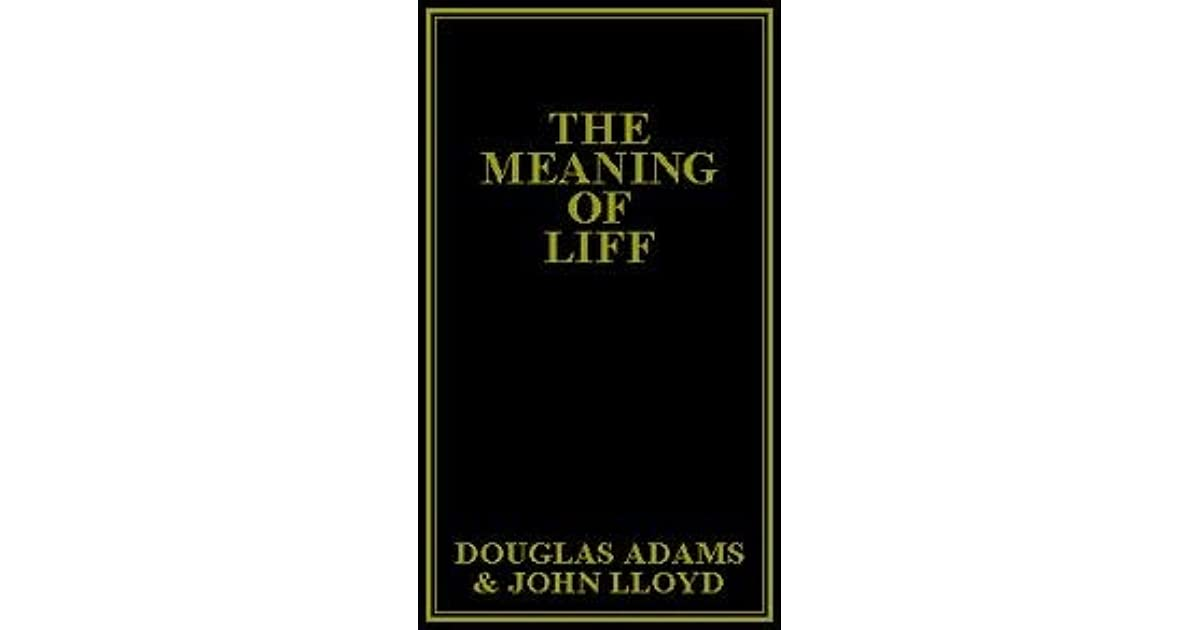 the meaning of liff ebook