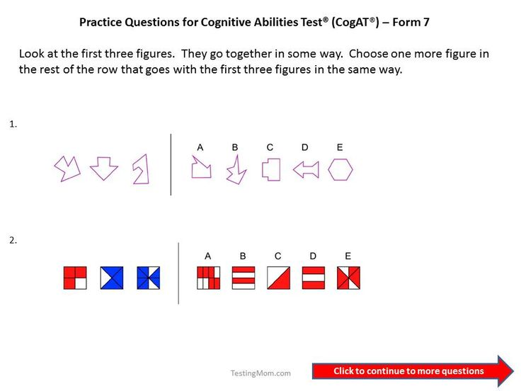 cogat form 7 practice test ebook download