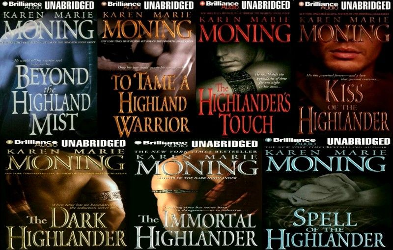 karen marie moning highlander series epub