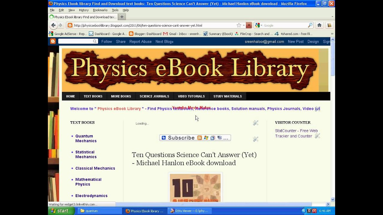 free applied physics ebooks download